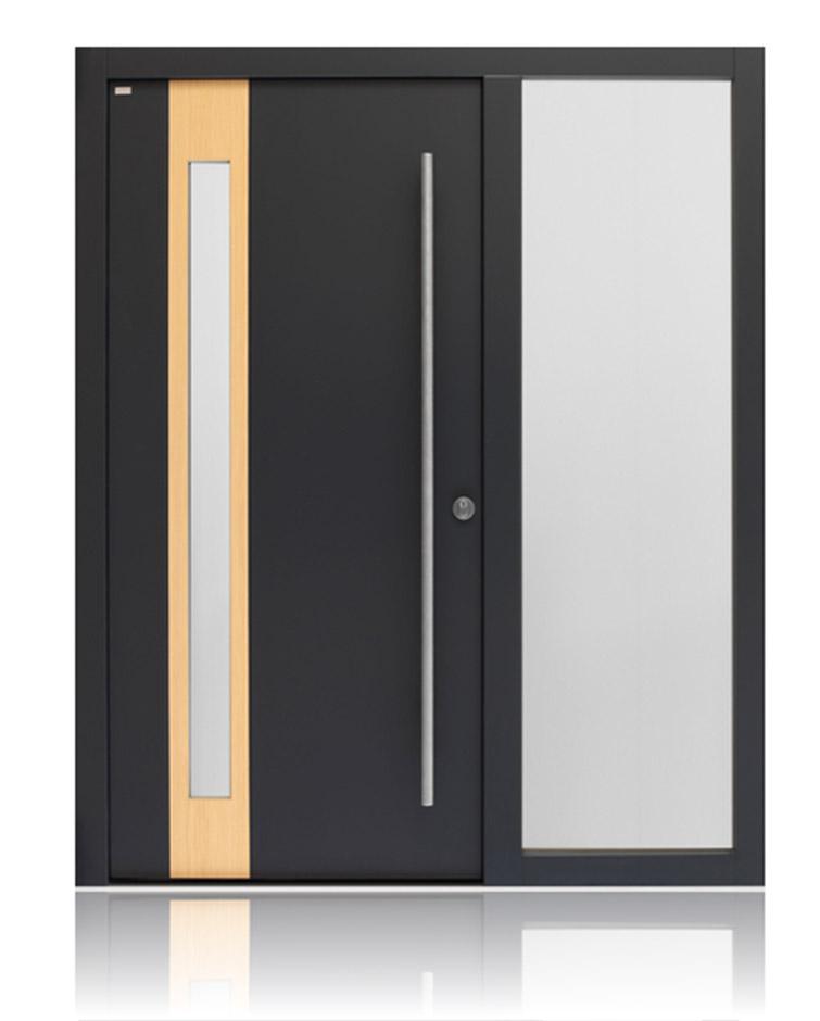 Деревянная входная дверь HTD949